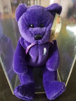 """Ty Beanie Baby 1997 """"Princess"""" In memory of Princess Diana for Sale in Tacoma, WA"""
