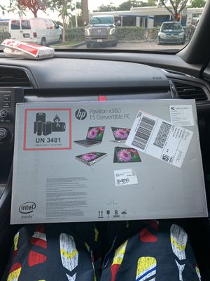 Touch screen ultra hd display laptop brand new for Sale in Miami, FL