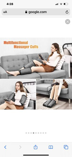 Leg Air Compression Massager with 3 Mode for Sale in Fontana, CA