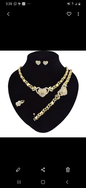 Gold plated necklace set for Sale in Deerfield Beach, FL