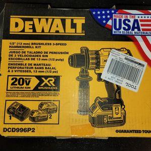 Dewalt 20v Cordless Hammer Drill Set for Sale in Las Cruces, NM