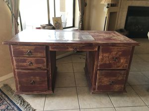 Custom made wood desk for Sale in Cave Creek, AZ
