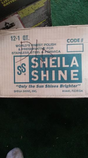 Sheila Shine stainless steel all purpose cleaner for Sale in San Bernardino, CA