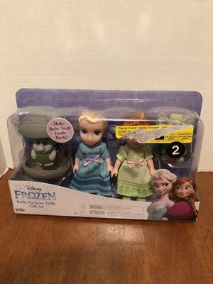 Disney Frozen petite surprise trolls gift set new for Sale in Elizabethtown, PA
