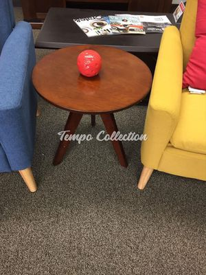 Round End Table, Brown, SKU# OAHD4003TC for Sale in Norwalk, CA