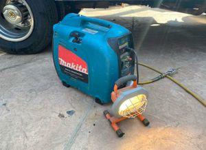 Makita 1100 watt quiet generator for Sale in Riverside, CA