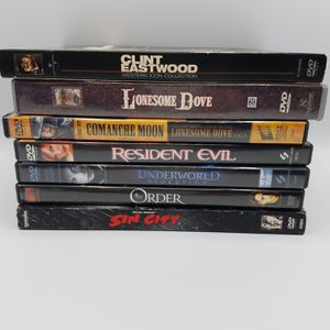Western and Horror Movie Lot of 8 DVDs for Sale in Chevy Chase, MD