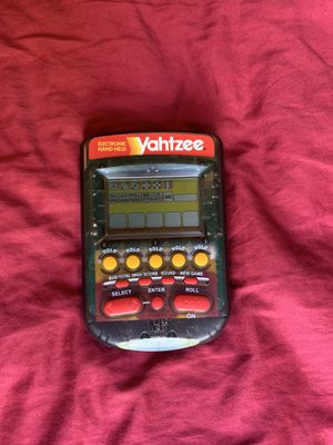 Hand held Yahtzee game for Sale in Lincoln, NE