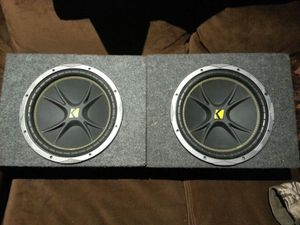 """NEW 12"""" KICKER COMP C SUBS for Sale in Riverside, CA"""