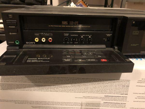 Sony VHS Hi-Fi