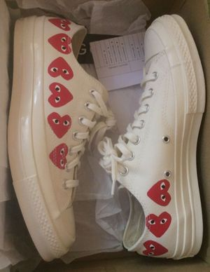 Comme des Garçons Play x Chuck 70 Low Top 'Multi Heart' for Sale in Canby, OR