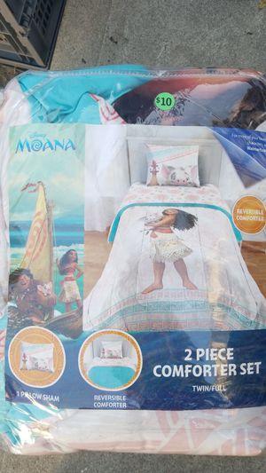 Moana twin comforter set for Sale in Long Beach, CA