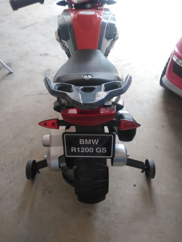 Ride-On BMW Motorcycle
