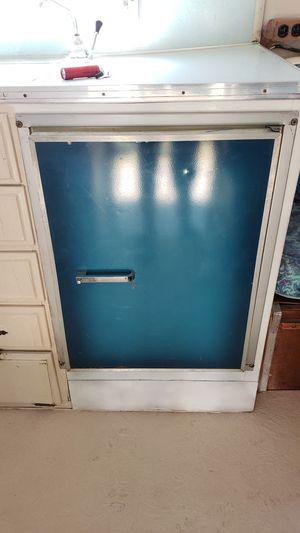 Vintage icebox cooler for camper/RV for Sale in Highland, UT