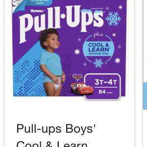 Pull-ups 2 Cases 3t-4t Boys for Sale in Philadelphia, PA