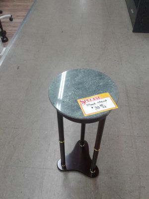 NEW, lovely stone top table. Ideal for plants. for Sale in Hollywood, FL