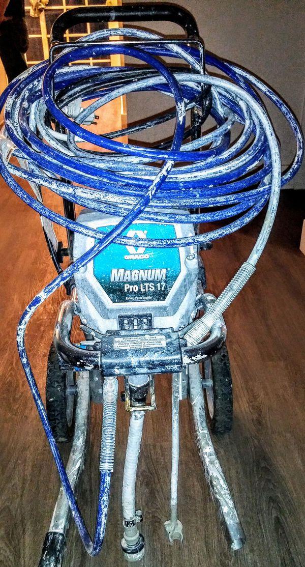 Magnum LTS 17 airless paint sprayer