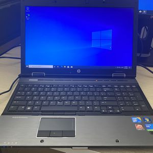 Hp Elitebook 8540W, Intel Core i7, 128gb SSD, 4gb ram, (Battery doesn't hold charge) AC adapter, If you keep it plug it work good but it needs a new for Sale in Woodbridge, VA
