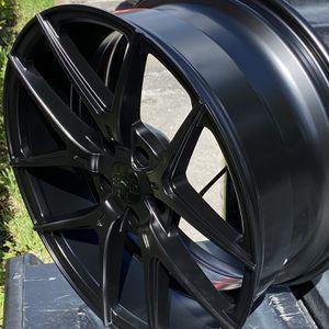 "18"" Satin Black Wheels 5x114 for Sale in Miami, FL"