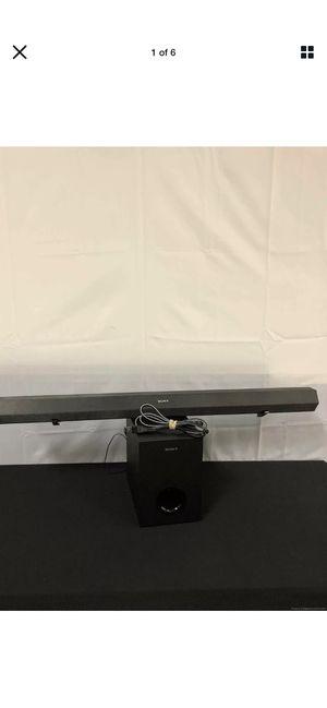 Sony 2.1 Bluetooth Speaker TV Sound Bar Subwoofer Home Theater Stereo for Sale in Fredericksburg, VA