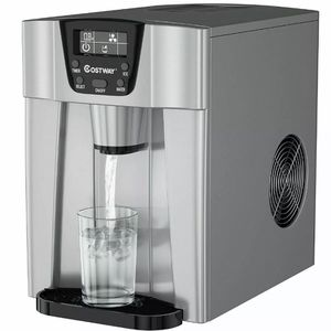 2-In-1 Ice Maker Water Dispenser 36lbs/24H LCD for Sale in Upland, CA