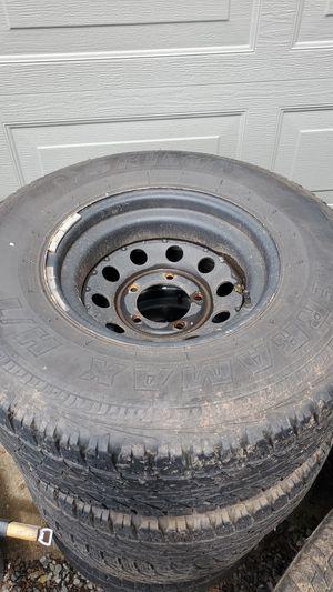 31×10.5R15 5×5x5.5 wheels&tires for Sale in Estacada, OR