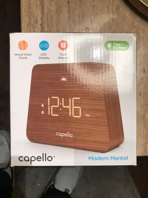 Capello clock/alarm for Sale in Phoenix, AZ