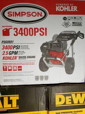 Power wascher 3400 psi for Sale in Riverside, CA