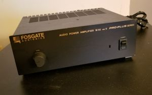 Fosgate M60 MkII mono power amp m 60 mk 2 amplifier center channel sub vintage for Sale in Silver Spring, MD