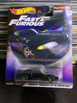 Used, Skyline r32 GTR Fast & Furious edition HotWheels for Sale for sale  Lawrenceville, GA