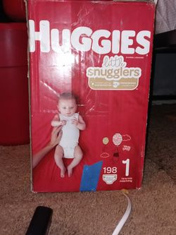 Huggies 198 Count Diapers Not Opened for Sale in Santa Rosa,  CA