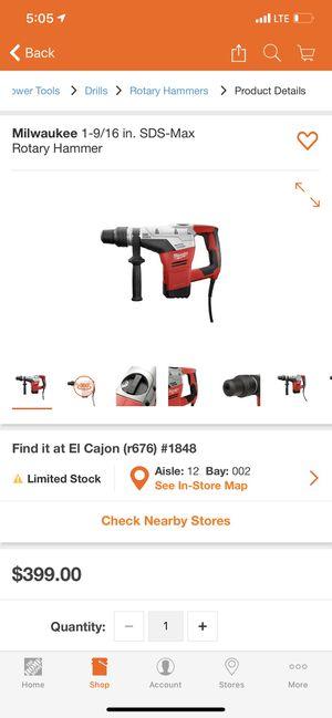 Milwaukee for Sale in El Cajon, CA