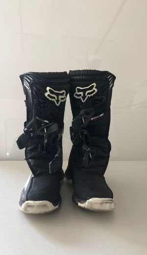 Fox Youth Comp 5 Motorcycle Boots for Sale in Las Vegas, NV