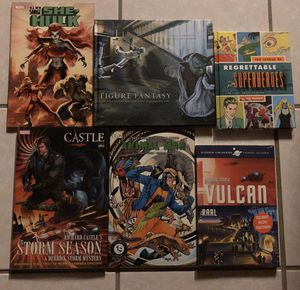 New Graphic Novels/Books Star Trek, The Complete Marvel Cosmos, Star Wars $5 each/$20 for all for Sale in Spring Hill, FL