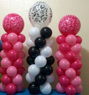 Table top balloon columns for Sale in Canal Winchester, OH