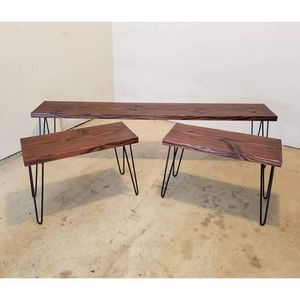 Custom industrial bench and end tables *sale pending* for Sale in Hillsboro, OR