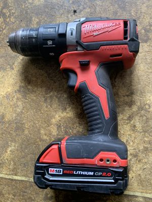 Milwaukee brushless hammer drill with battery for Sale in Downers Grove, IL