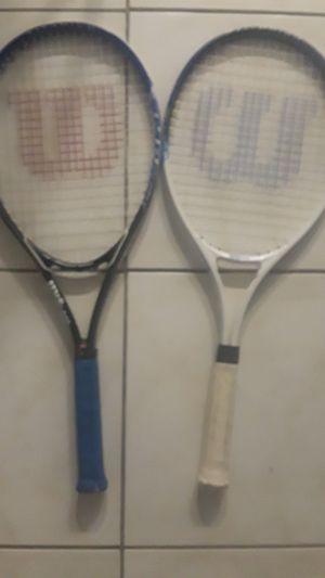 2016 Wilson titanium tennis rackets for Sale in Tamarac, FL