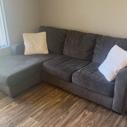 Couch With Chaise And Two Pillows for Sale in Vista,  CA