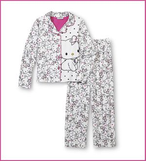 Hello Kitty Girls Children's Youth Size Small 6 Pajamas for Sale in California City, CA