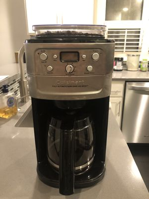 Cuisinart fully automatic burr grind and brew coffee machine for Sale in Seattle, WA