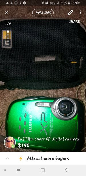 FujiFilm Sport XP digital camera for Sale in Newburgh, IN