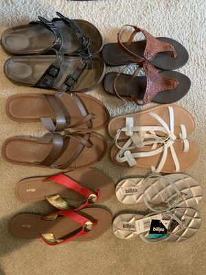 Women's sandals/vans /Vince Camuto/toms for Sale in Austin, TX