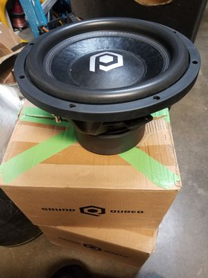 Soundqubed subwoofers for Sale in Riverside, CA