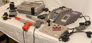 Original NES,11 games,2 controllers, 2 guns,NESAdvantage, Multiplayer/necessary cords! for Sale in North Chesterfield, VA