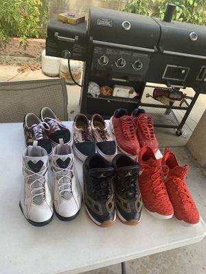 6 pairs size 12 Jordan KD Vans Air Max for Sale in Sylmar, CA