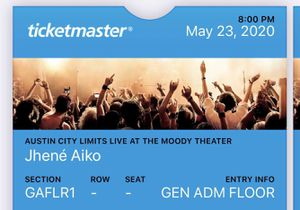 Jhené General Admission (2) for Sale in San Angelo, TX