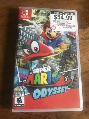Super Mario ODYSSEY Nintendo switch for Sale in Cleveland, OH