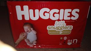 Huggies Diapers size Newborn for Sale in San Diego, CA