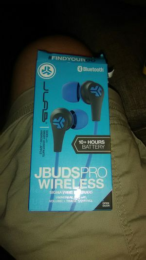 Jbuds pro wireless signature earbuds for Sale in Chandler, AZ